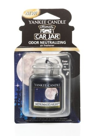 Yankee candle Osvěžovač do auta Yankee Candle Midsummers Night visačka