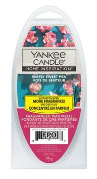 Yankee candle Simply Sweet Pea - vosk 75g