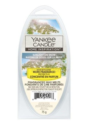 Yankee candle Sunlight on Snow - vosk 75g
