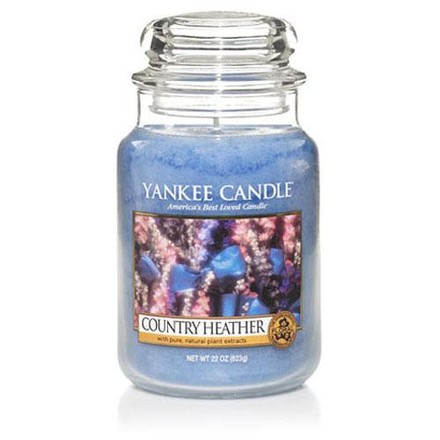 Yankee candle Svíčka Country Heather 623g Venkovský vřes