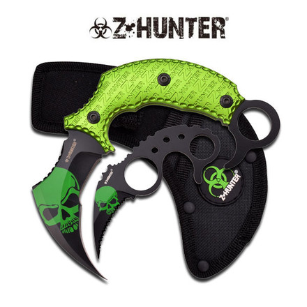 Z Hunter Z HUNTER ZB-109BG COMBO KNIFE 2 PIECE SET