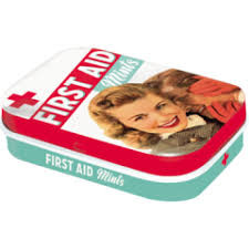 Nostalgic Art Retro Mint Box-First Aid Mints