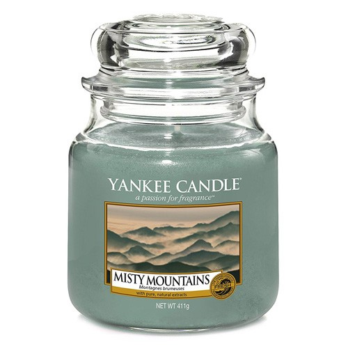 Yankee candle sklo2 Misty Mountains