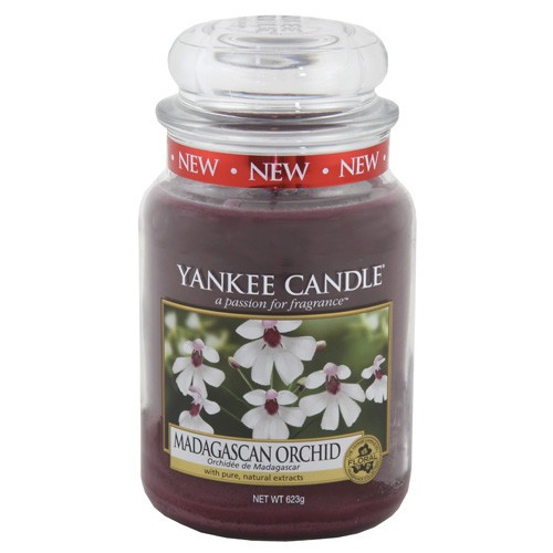 Yankee candle sklo3 Madagascan Orchid
