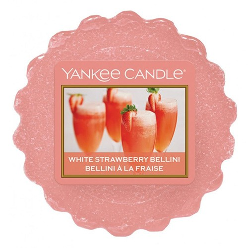 Yankee candle vosk White Strawberry Bellini
