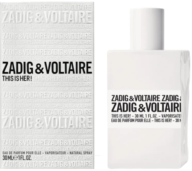 Highlife Zadig & Voltaire This is Her! parfémovaná voda Pro ženy 30ml